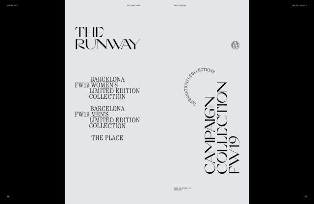 Massimo Dutti Paper Magazine Vol. VI - Ana Mirats